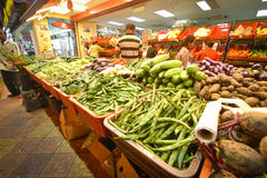Vegetable store at Little India, brickfields,  Kuala Lumpur, Malaysia. Royalty Free Stock Image