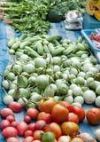 Vegetable store in local market Stock Photography