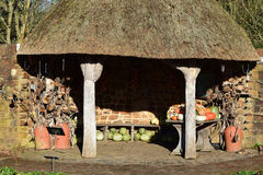 Vegetable Store, RHS Rosemoor Garden in Winter Royalty Free Stock Photos