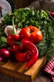 Vegetable tablet Stock Image