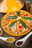 Vegetable Tajine Royalty Free Stock Photography