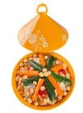 Vegetable Tajine stock photo