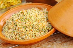 Free Vegetable Tajine With Cous Cous Stock Image - 156251611