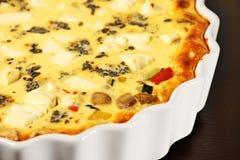 Vegetable tart Royalty Free Stock Photo