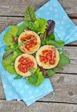 Vegetable tartlet Royalty Free Stock Image