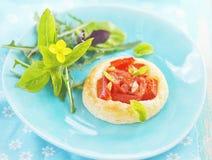 Vegetable tartlet Stock Image