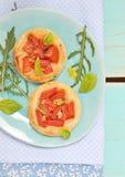 Vegetable tartlet Stock Images