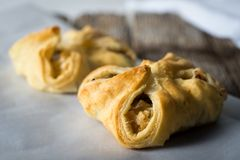 Vegetable Tarts savory baked in Pasty Dough Royalty Free Stock Image