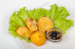 Vegetable tempura Stock Photography