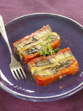 Vegetable terrine Royalty Free Stock Photo