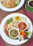 Vegetable, Thai food Royalty Free Stock Photo