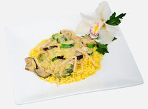 Vegetable Thai green curry Royalty Free Stock Image