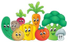Vegetable theme image 2 Royalty Free Stock Photography