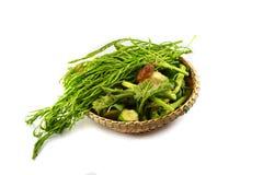 Vegetable on threshing Stock Photo