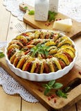 Vegetable tian Stock Photos