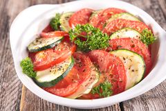 Vegetable tian Stock Photo