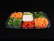 Vegetable Tray #1 stock image