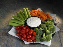 Vegetable tray Royalty Free Stock Photo