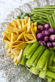 Vegetable on a tray. Stock Images