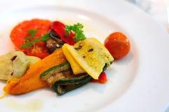 Vegetable variety cuisine Stock Photos