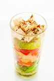 Vegetable verrine Royalty Free Stock Photo