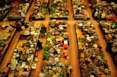 Vegetable and wet market. Siti Khadijah Market in in Kota Bharu, Kelantan, Malaysia, Asia Royalty Free Stock Photos