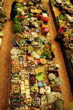 Vegetable and wet market. Siti Khadijah Market in in Kota Bharu, Kelantan, Malaysia, Asia Royalty Free Stock Photography