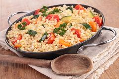 Vegetable and wheat Royalty Free Stock Photos