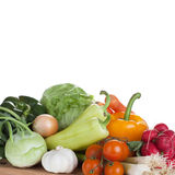 Vegetable on white background Stock Image