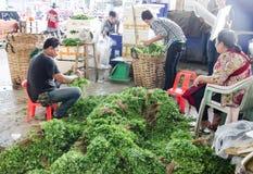 Vegetable Wholesale Market Royalty Free Stock Photography