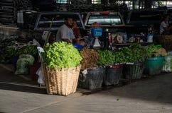 Vegetable Wholesale Market Stock Image