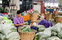 Vegetable Wholesale Market Stock Photography