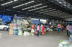 Vegetable Wholesale Market Royalty Free Stock Images