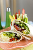 Vegetable wraps Stock Photo