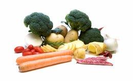 VEGETABLES. Harvest. Fresh vegetables isolated on white stock images