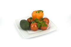 Vegetables. Ingredients from vegetables for various dishes Stock Images