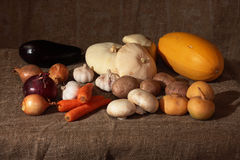 Vegetables. On a cook-table Royalty Free Stock Photos