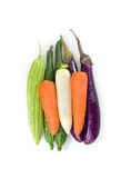 Vegetables. Beauty of several different vegetables together Stock Images