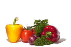 Vegetables. Fresh vegetables still life image Stock Image