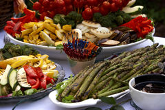 Vegetables. Food and table settings - series Royalty Free Stock Photos