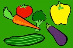 Vegetables royalty free illustration