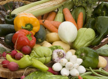 Vegetables. Close up of fresh vegetables royalty free stock photography