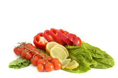 Vegetables. Isolated on white bascground Stock Images