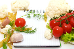 Vegetables. Fresh vegetables on the table Stock Images