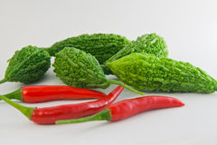 Vegetables. The vegetables of eating healthy food Stock Photography