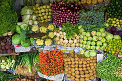 Vegetables. In a traditional organic market Stock Photo