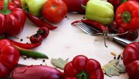 Vegetables. Autumn vegetables on the wood, vegetables frame Royalty Free Stock Images