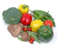 Vegetables. Fresh organic colorful vegetables. Background Stock Images