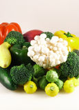 Vegetables. Fresh organic growth vegetables,vitamins and antioxidants Stock Photo