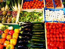 Vegetables. French market Royalty Free Stock Images